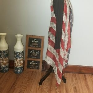 sunshine and rodeos Tops - 🧡Sale Item! American Flag Long Vest